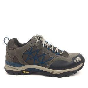 North face hiking trail shoes vibram sneaker tan